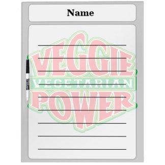 Veggie Power Dry Erase Board