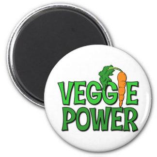 Veggie Power Gift 2 Inch Round Magnet