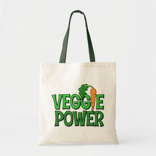 Veggie Power Gift Budget Tote Bag