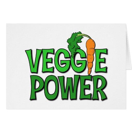 Veggie Power Gift Greeting Cards