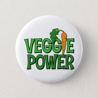 Veggie Power Gift Pinback Button