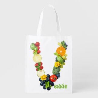 Veggie Power Grocery Bag