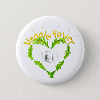 Veggie Power meagre Button