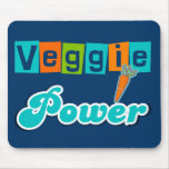 Veggie Power Mouse Pads