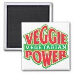 Veggie Power Refrigerator Magnet