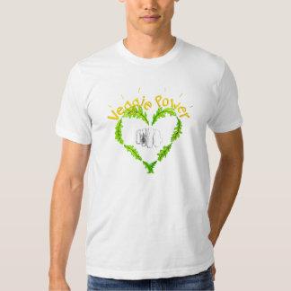Veggie Power simple American Apparel T-shirt