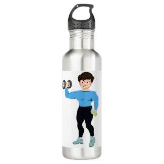 Veggie Power Stainless Steel Water Bottle
