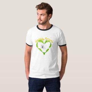 Veggie Power T-tröja with round neck Shirt