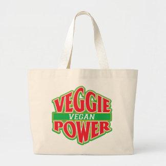 Veggie Power Vegan Tote Bag