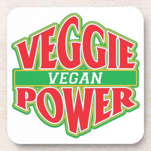 Veggie Power Vegan Coasters