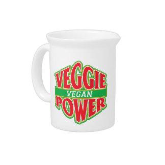 Veggie Power Vegan Drink Pitchers