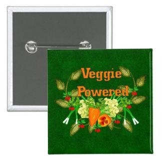 Veggie Powered Pins