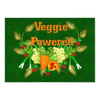 Veggie Powered Card
