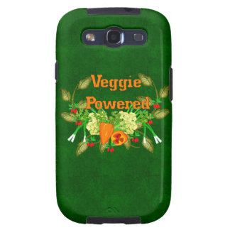 Veggie Powered Galaxy SIII Cover