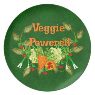 Veggie Powered Dinner Plate