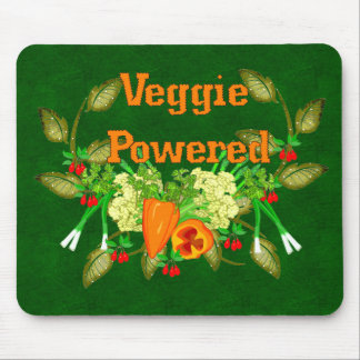 Veggie Powered Mouse Pad