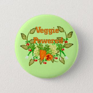 Veggie Powered Pinback Button
