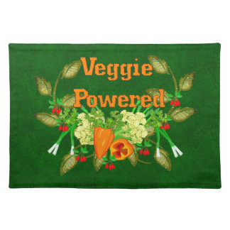Veggie Powered Placemat