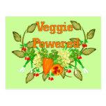 Veggie Powered Post Card