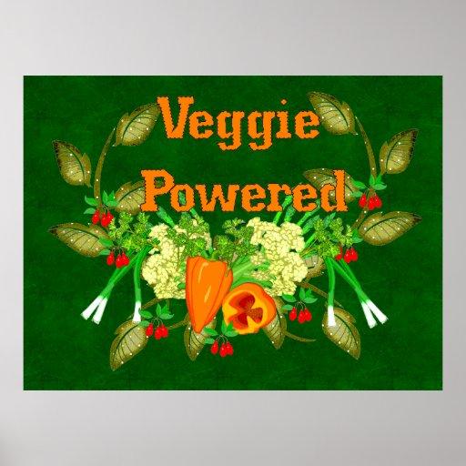 Veggie Powered Poster