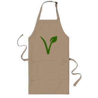 veggie pride,vegetarian,vegetarians,vegan,vegans long apron