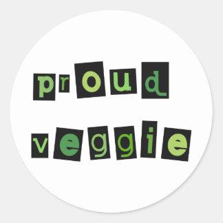 Veggie Products! Classic Round Sticker