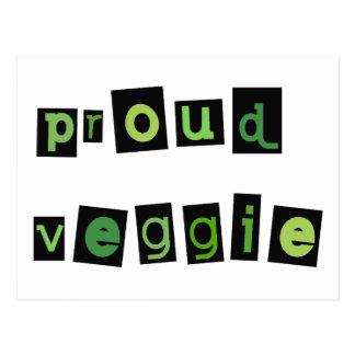 Veggie Products! Postcard