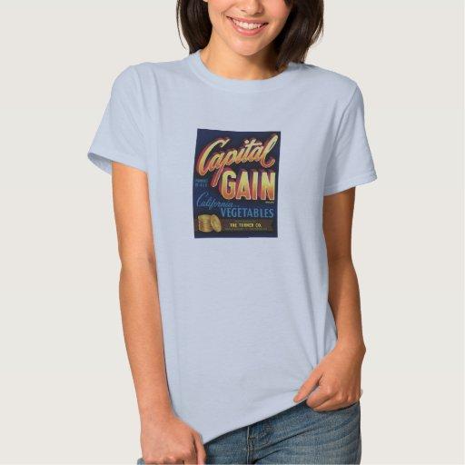 Veggie retro viejo de la etiqueta de las mercancía tshirt