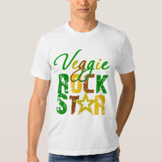 Veggie Rock Star Shirts