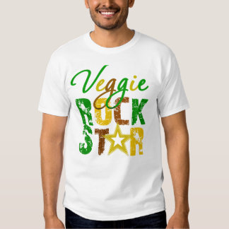Veggie Rock Star T-shirts