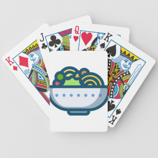 Veggie Salad Bicycle Playing Cards