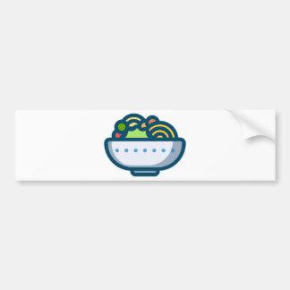 Veggie Salad Bumper Sticker