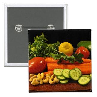 Veggie Salad Plate Pin
