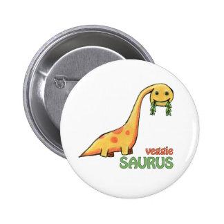 Veggie Saurus Button