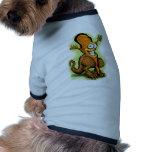 Veggie Saurus Rex Doggie T Shirt