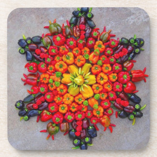 Veggie Star coasters