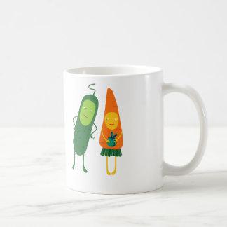¡Veggie-tiempo! Taza Clásica