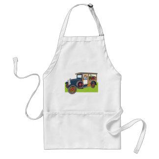 Veggie Truck Adult Apron