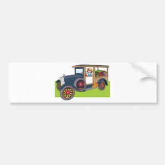 Veggie Truck Bumper Sticker