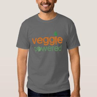Veggie Vegetable Powered Vegetarian Tshirts