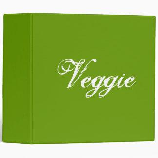 "Veggie. Verde. Lema Carpeta 2"""