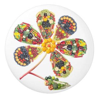 VeggieArt PowerFlower Ceramic Knob