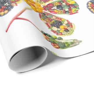 VeggieArt PowerFlower Wrapping Paper