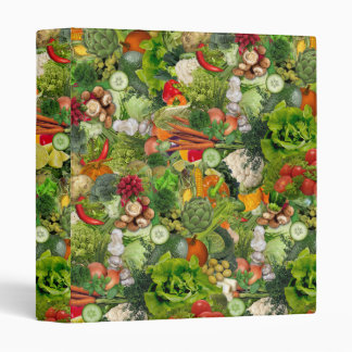 Veggies 3 Ring Binder