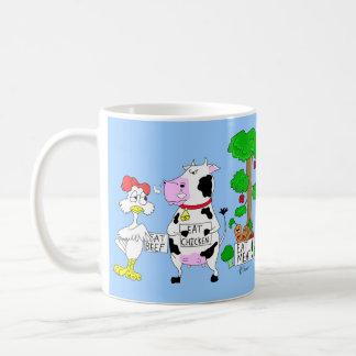 Veggies Against Vegetarianism Mug