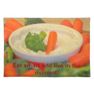 Veggies and Dip Placemat