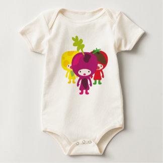 Veggies babyshirt baby bodysuit