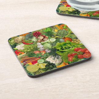 Veggies Beverage Coaster
