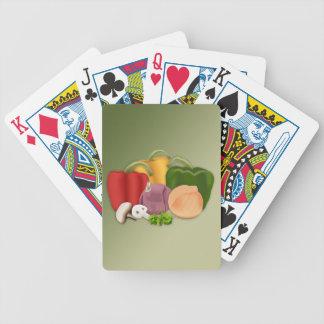 Veggies Bicycle Playing Cards