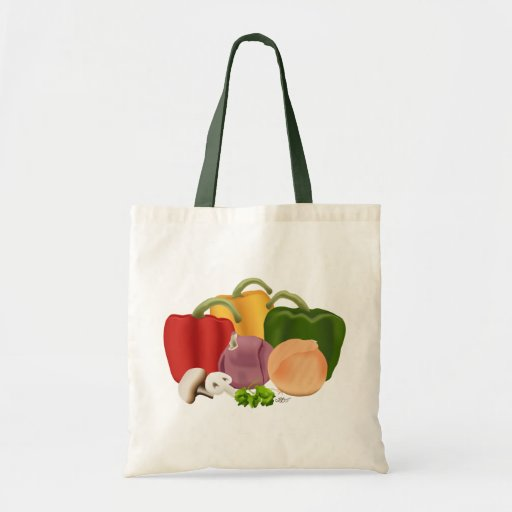 Veggies Budget Tote Bag